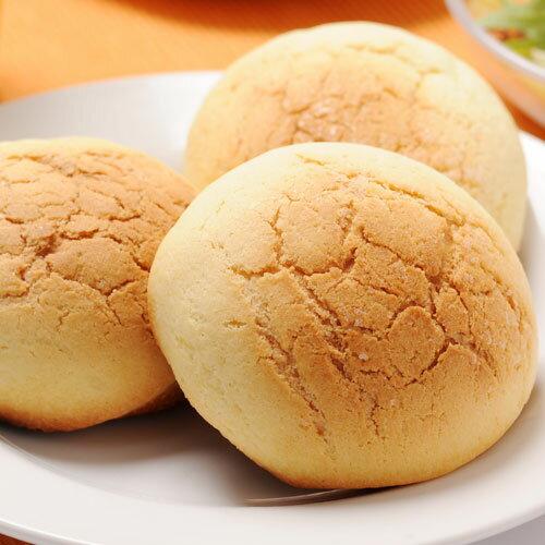 国産小麦100%ふくらむ魔法のメロンパン(プレーン)4個入り代引不可解凍・発酵不要で冷凍のまま約15分で焼くだけ特許取得の冷凍パ