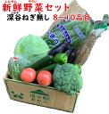 新鮮野菜セット 8〜10品目(深谷ねぎなし)送料別【同梱におススメ 常温発送/クール便(気温によって配送方法変更)】