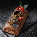 昨年、楽天ランキングを賑わせた大大好評のビュッシュ・ド・ノエル【クリスマスケーキ 2011 生チョコ ブッシュ・ド・ノエル ご予約】ベルギー産チョコレート使用の限定 ♪お子様も一緒に楽しめます!