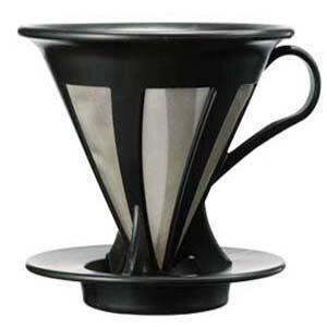 ハリオ カフェオールドリッパー02 ブラック CFOD-02B【コーヒー/珈琲】【楽ギフ_包装】【RCP】