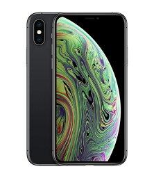 【中古】【安心保証】 iPhoneXS[64GB] SIMロック解除 docomo スペースグレイ