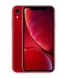 【中古】【安心保証】 SoftBank iPhoneXR[64G] レッド SIMロック解除済