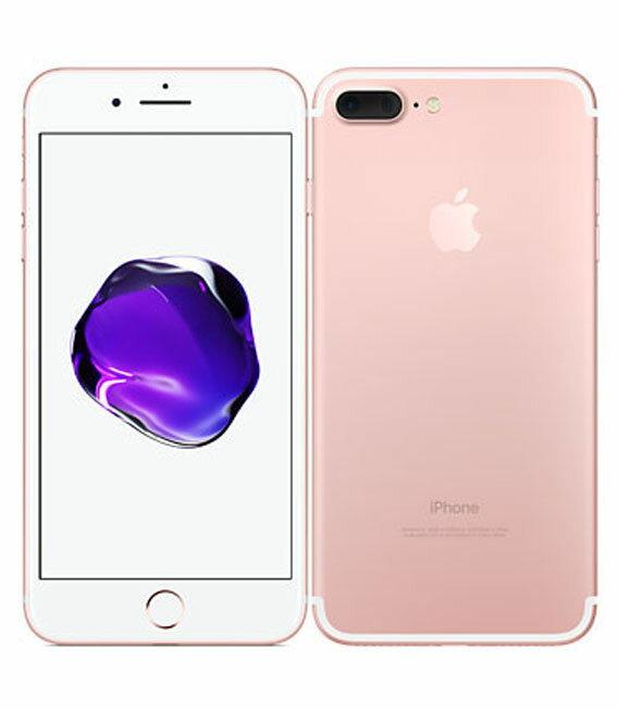 【中古】【安心保証】 docomo iPhone7Plus 256GB ローズゴールド:ゲオモバイル