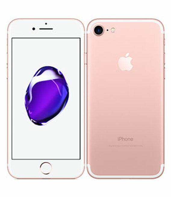 【中古】【安心保証】 au iPhone7 128GB ローズゴールド:ゲオモバイル