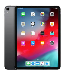 【中古】【安心保証】 iPadPro 11インチ 第1世代[64GB] セルラー au スペースグレイ
