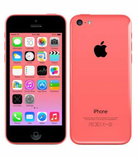 【中古】【安心保証】 docomo iPhone5c[32GB-d] ピンク