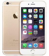 【中古】【安心保証】 SoftBank iPhone6[16G] ゴールド