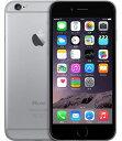 【中古】【安心保証】SIMフリー iPhone6[16G] スペースグレイ