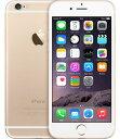 【中古】【安心保証】SIMフリー iPhone6[16G] ゴールド