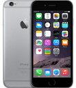 【19日20時〜限定10倍】【中古】【安心保証】 SIMフリー iPhone6[64G] スペースグレイ