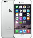 【19日20時〜限定10倍】【中古】【安心保証】 SIMフリー iPhone6[128G] シルバー
