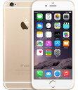【中古】【安心保証】SIMフリー iPhone6[海外64G] ゴールド
