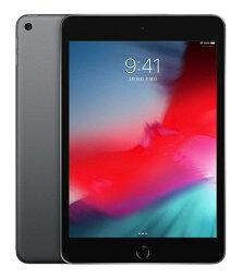 【中古】【安心保証】 au iPadmini-7.9_5[セルラー64G] グレイ