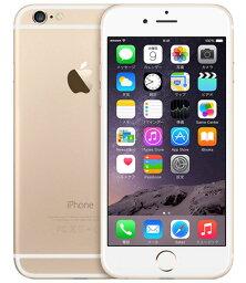 【中古】【安心保証】 docomo iPhone6[128G] ゴールド