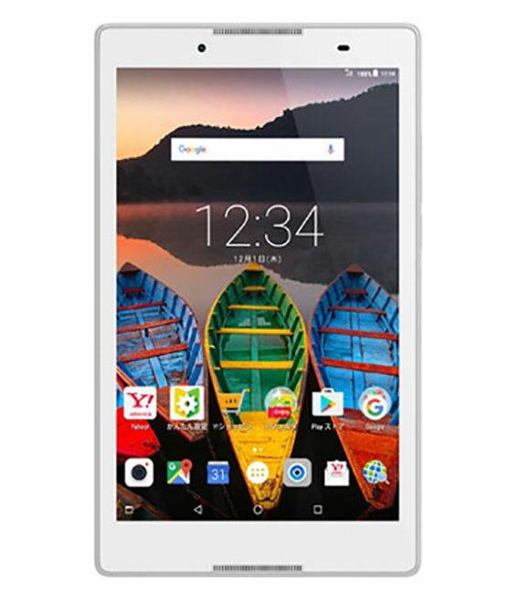 【中古】【安心保証】 Y!mobile Lenovo TAB3 602LV ポラールホワイト