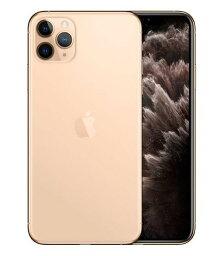 【中古】【安心保証】 iPhone11 Pro Max[512GB] SIMロック解除 SoftBank ゴールド