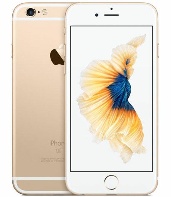 【中古】【安心保証】 SoftBank iPhone6s[64G] ゴールド:ゲオモバイル