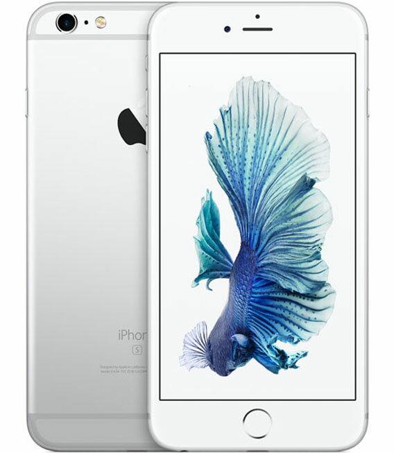 【中古】【安心保証】 docomo iPhone6sPlus[128G] シルバー:ゲオモバイル