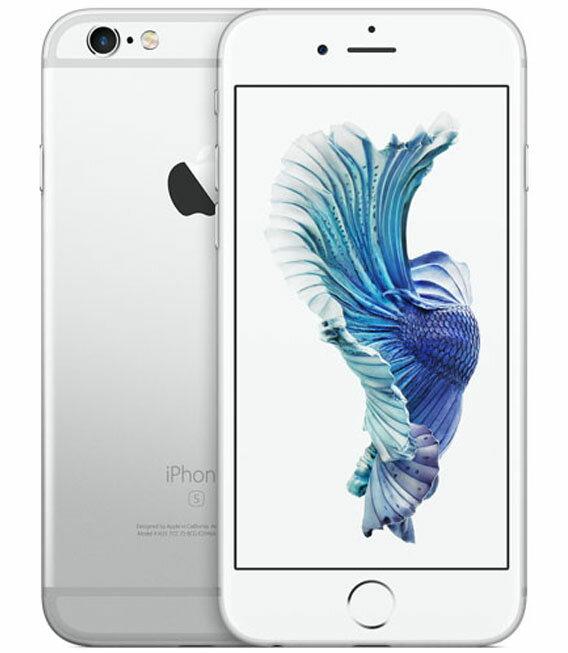 【中古】【安心保証】 au iPhone6s[64G] シルバー:ゲオモバイル