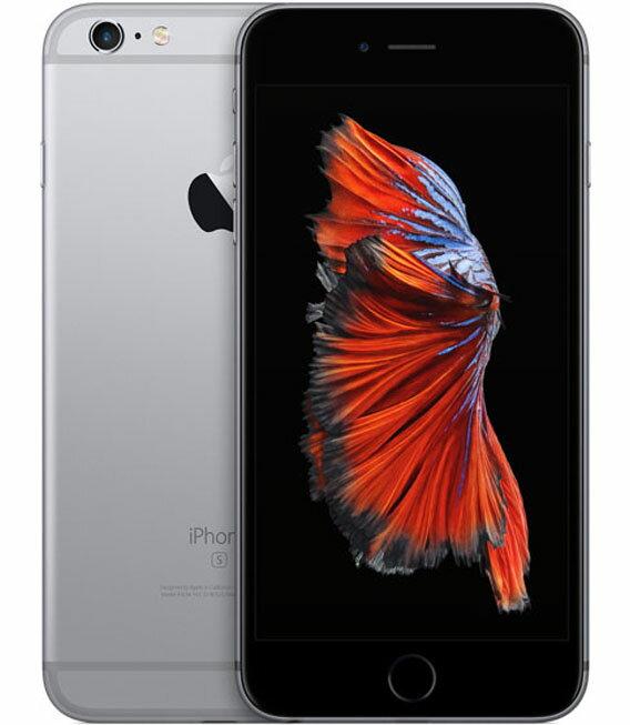 【中古】【安心保証】 au iPhone6sPlus[128G] スペースグレイ:ゲオモバイル