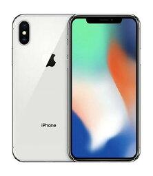【中古】【安心保証】 iPhoneX[256GB] SoftBank MQC22J シルバー