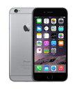 【中古】【安心保証】SIMフリー iPhone6[海外16G] スペースグレイ