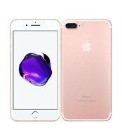 【中古】【安心保証】 au iPhone7Plus[128GB] ローズゴールド