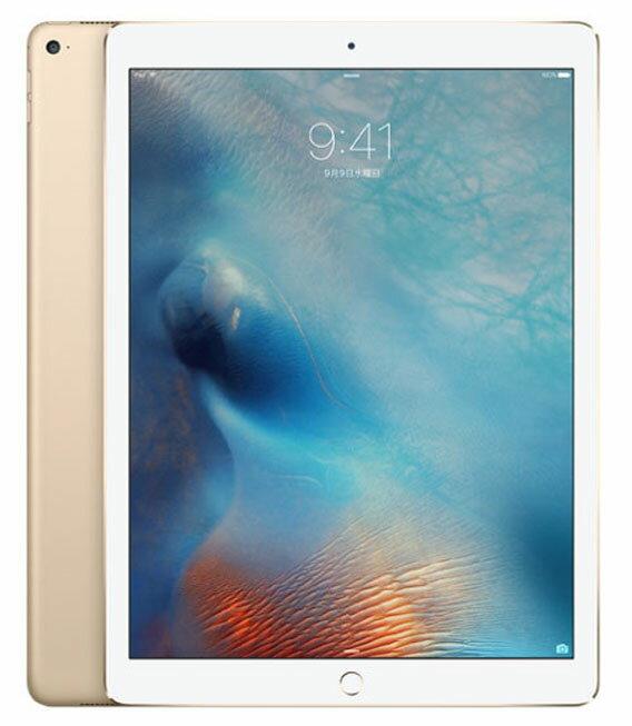 【中古】【安心保証】 SoftBank 9.7iPadPro_1[セルラー128G] ゴールド:ゲオモバイル