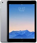 【中古】【安心保証】 au iPadAir2_6[4G128GB] グレイ