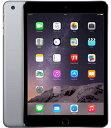 【中古】【安心保証】 docomo iPadmini3[WiFi+4G 64] グレイ