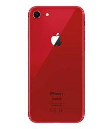 【中古】【安心保証】 iPhone8[64GB] SIMフリー レッド