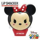 Lip Smacker リップスマッカー ディズニーツムツム Minnie Mouse ミニーマウス【ストロベリーロリポップフレーバー】TSUMTSUM リップバーム リップクリーム リップケア Disney かわいい 甘い 香り