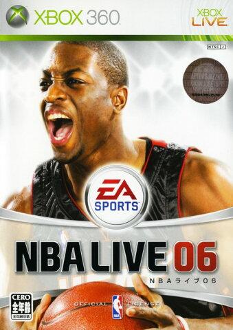 【中古】NBAライブ06ソフト:Xbox360ソフト/スポーツ・ゲーム