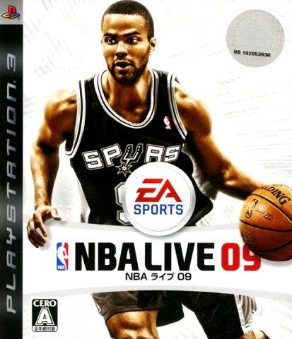 【中古】NBAライブ09ソフト:プレイステーション3ソフト/スポーツ・ゲーム