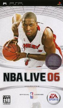 【中古】NBAライブ06ソフト:PSPソフト/スポーツ・ゲーム