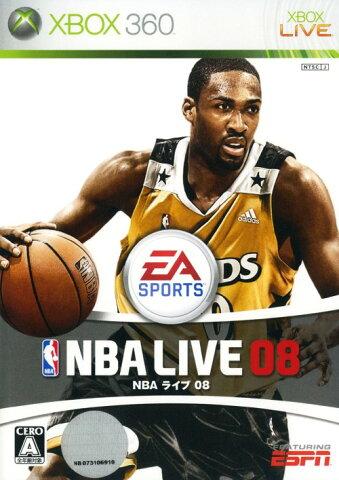 【中古】NBAライブ08ソフト:Xbox360ソフト/スポーツ・ゲーム