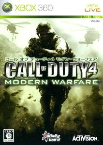 【中古】Call of Duty4 MODERN WARFAREソフト:Xbox360ソフト/シューティング・ゲーム