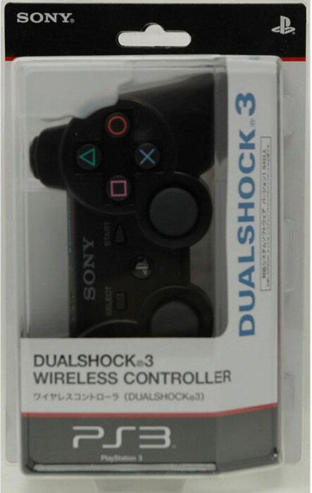 【中古】ソニー/ワイヤレスコントローラDUALSHOCK3 ブラック周辺機器(メーカー純正)ソフト/その他・ゲーム