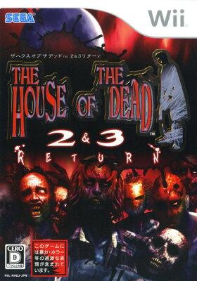 【中古】THE HOUSE OF THE DEAD2&3 リターンソフト:Wiiソフト/シューティング・ゲーム
