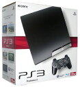 【中古・箱無・説明書有】PlayStation3 HDD 120GB CECH?2000A チャコール・ブラックプレイステーション3 ゲーム機本体