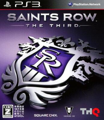【中古】【18歳以上対象】Saints Row THE THIRD 廉価版ソフト:プレイステーション3ソフト/アクション・ゲーム
