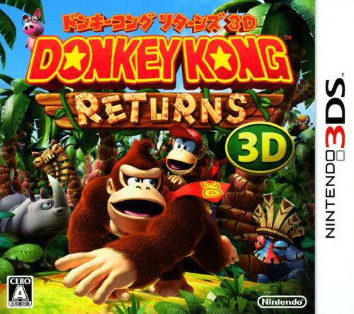 中古 ドンキーコングリターンズ3Dソフト:ニンテンドー3DSソフト/任天堂キャラクター・ゲーム