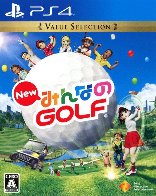 【中古】New みんなのGOLF Value Selectionソフト:プレイステーション4ソフト/スポーツ・ゲーム