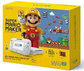 【中古・箱無・説明書有】Wii U スーパーマリオメーカー セットWii U ゲーム機本体