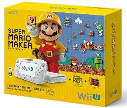 【中古・箱説なし・付属品なし・傷なし】Wii U スーパーマリオメーカー セットWii U ゲーム機本体