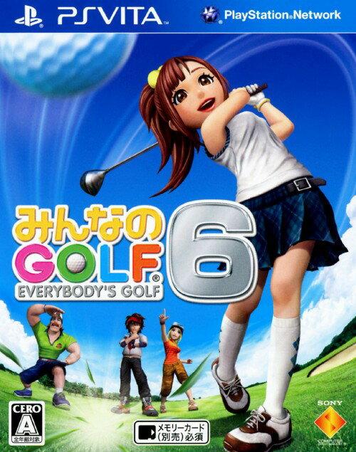 プレイステーション・ヴィータ, ソフト GOLF6:PSVita