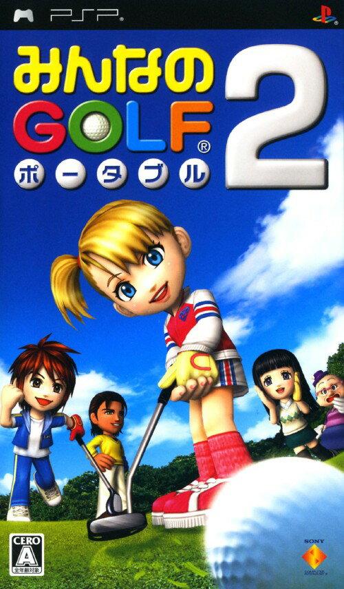 プレイステーション・ポータブル, ソフト GOLF 2:PSP