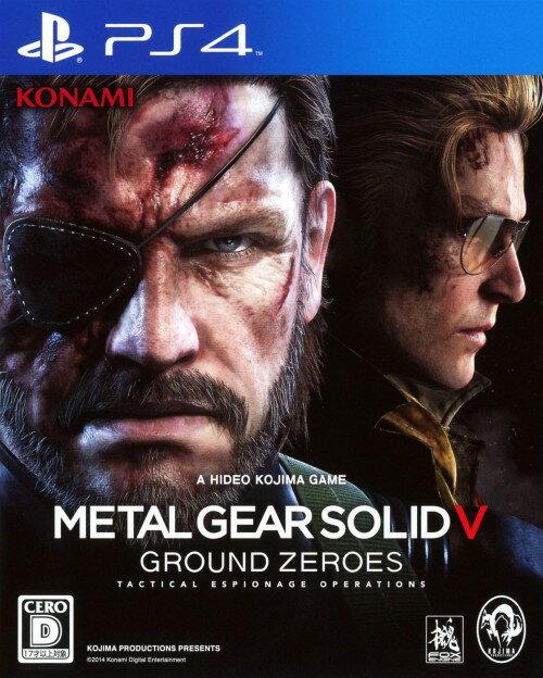 プレイステーション4, ソフト METAL GEAR SOLID5 GROUND ZEROES:4