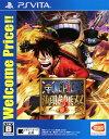 【中古】ONE PIECE 海賊無双3 Welcome Price!!ソフト:PSVitaソフト/マンガアニメ・ゲーム