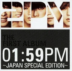 【中古】01:59PM〜JAPAN SPECIAL EDITION〜(初回生産限定盤)(DVD付)/2PMCDアルバム/ワールドミュージック
